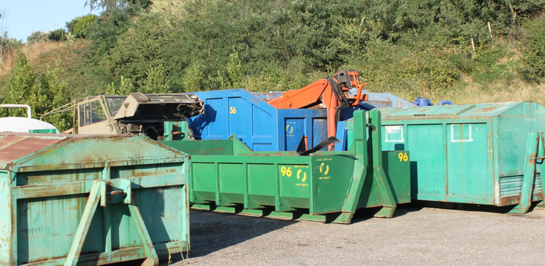 Ecoservice Appalti Fornitura e noleggio cassoni a roma